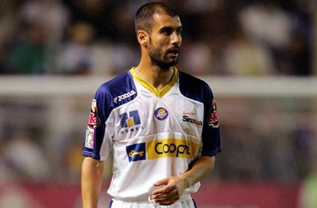 Pep en su etapa como jugador de Dorados de Sinaloa.