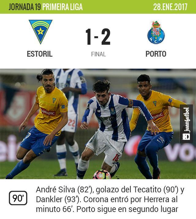 Porto vence al Estoril