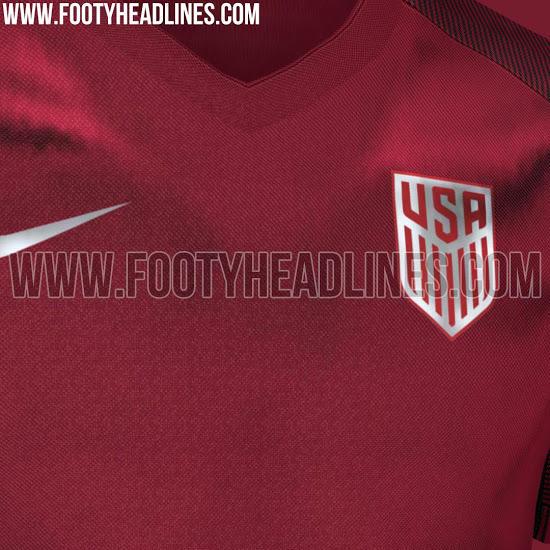 La selección estadounidense deja atrás las barras y las estrellas; estrenará un tono vino.