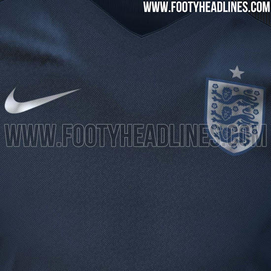 Camiseta alternativa de Inglaterra para 2017