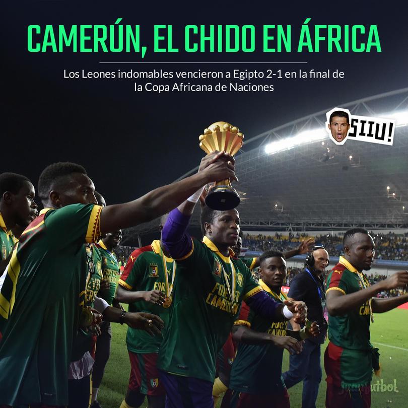 Camerún es el nuevo campeón de África