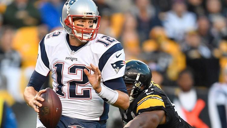 Tom Brady pierde su camiseta del Super Bowl.