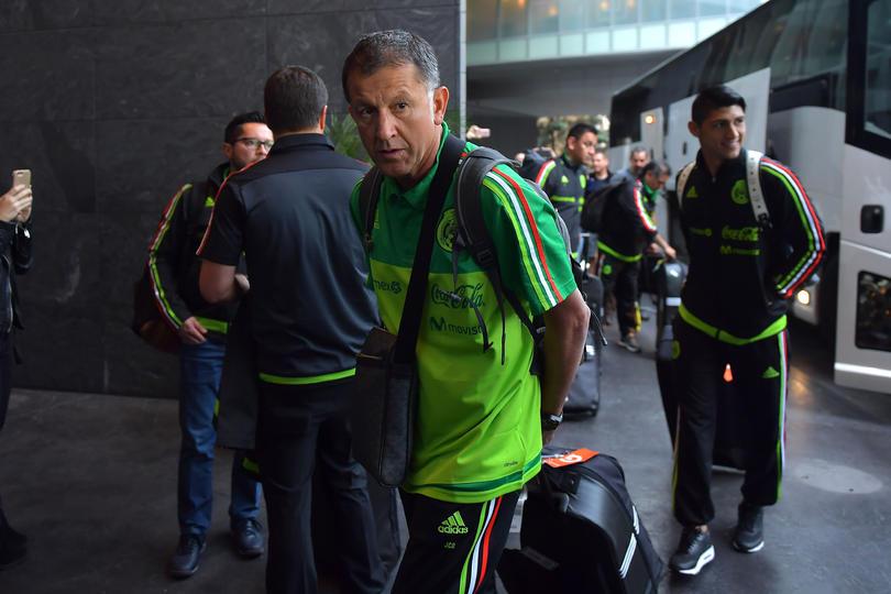 Osorio a su llegada a Las Vegas