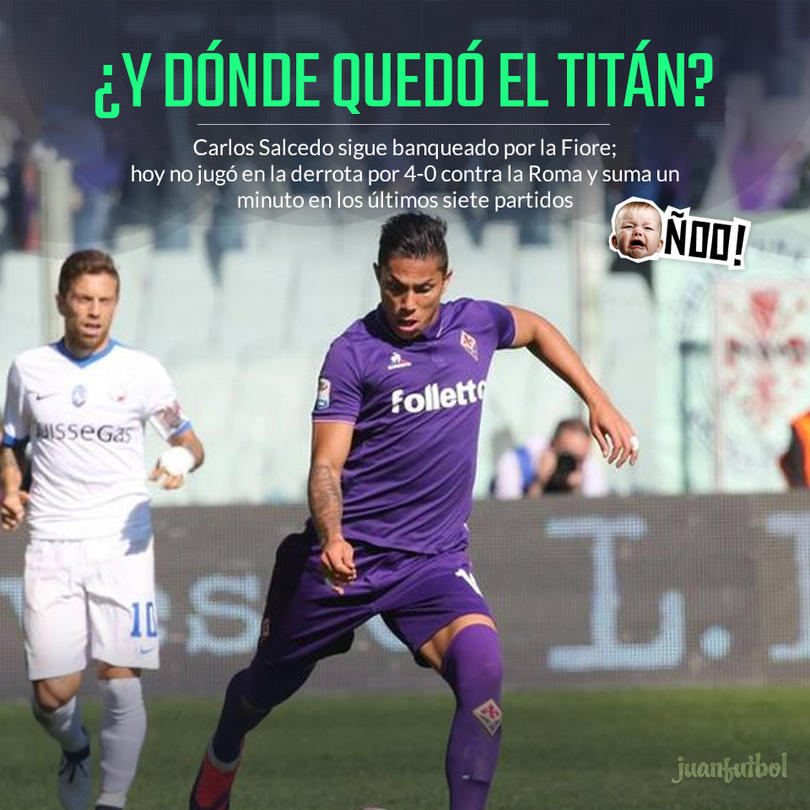 Carlos Salcedo sigue sin contar para la Fiorentina
