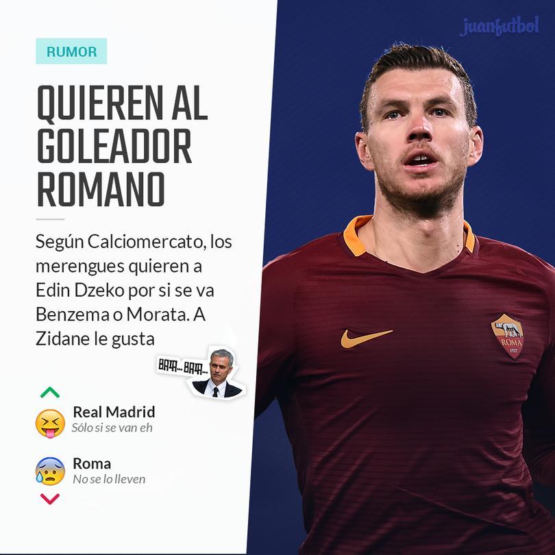 Dzeko suena para el Madrid