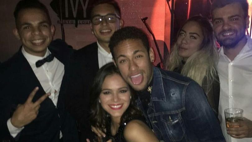 La fiesta de Neymar