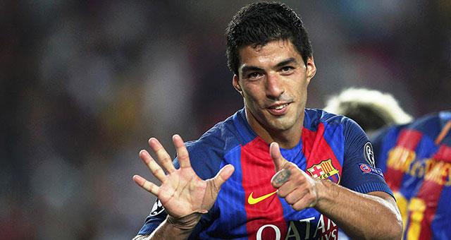 Luis Suárez es sancionado dos partidos