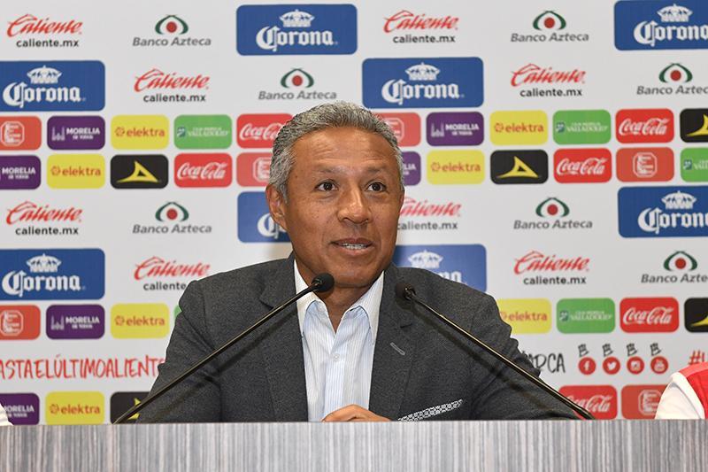 Roberto Hernández es el nuevo técnico de Morelia