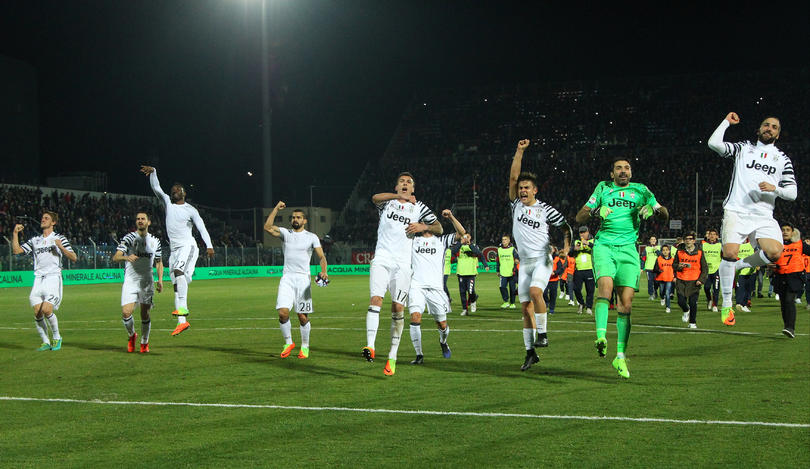 Juengo de la Serie A Crotone vs. Juventus