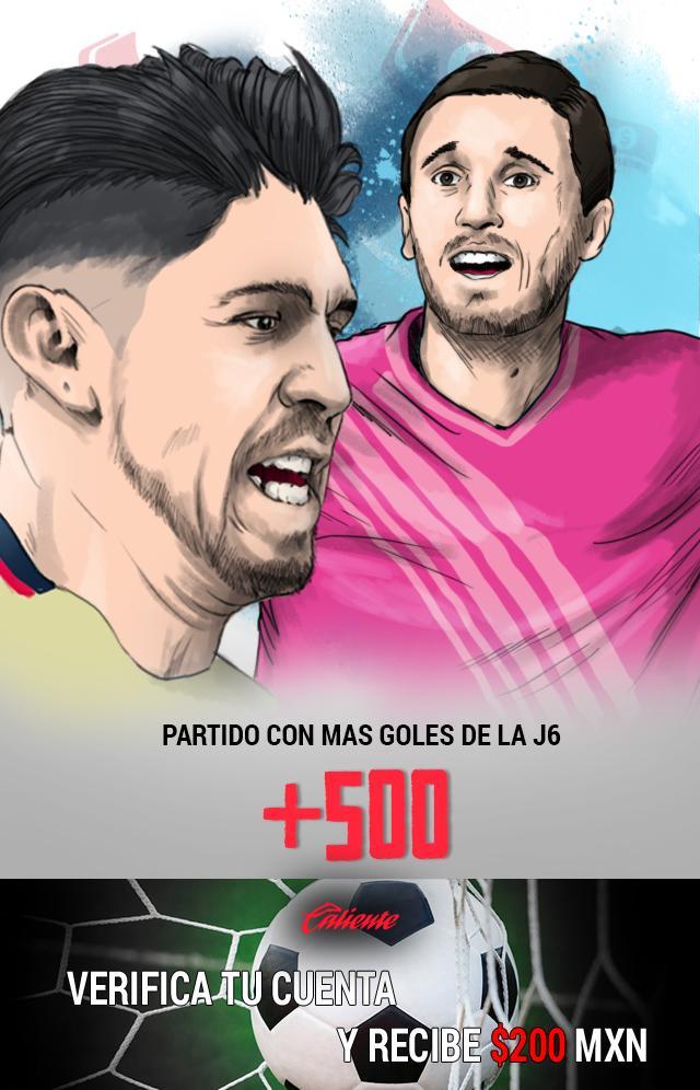 Si crees que América vs Puebla será el partido con más goles, apuesta en Caliente y llévate mucho dinero.