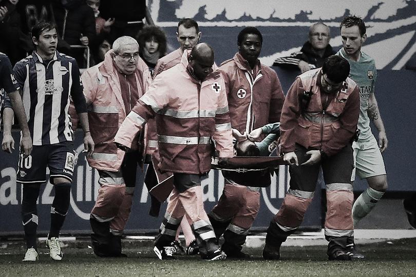 Lesiones graves del Barcelona