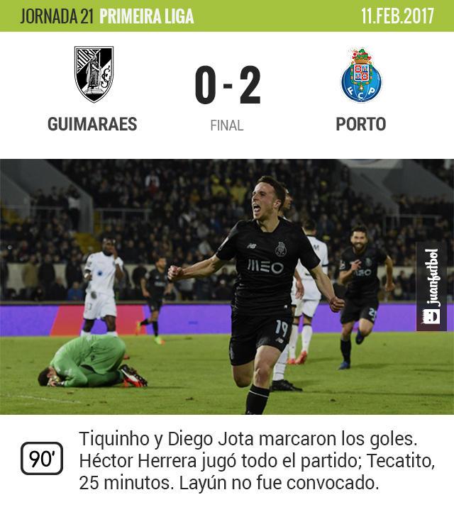 Porto acabó con el Vitória Guimaraes