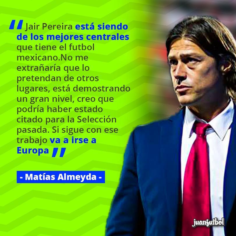 Almeyda afirmó que Jair Pereira terminará por irse a Europa.