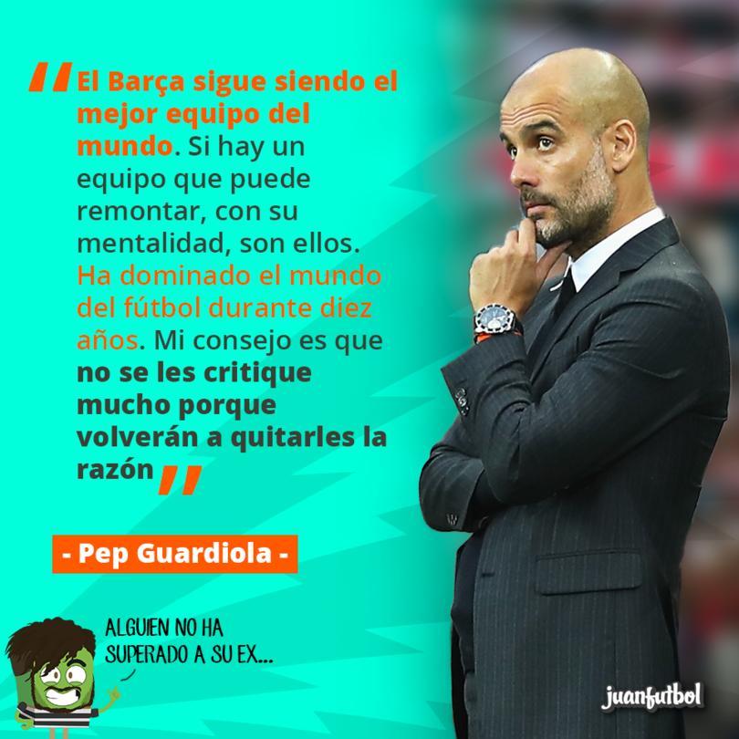 Pep sigue creyendo ciegamente en el Barça
