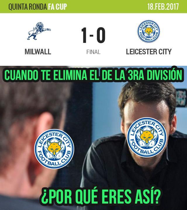 El Leicester perdió