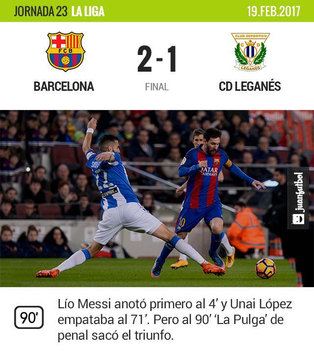 La gran parte del juego fue un empate que preocupaba al Barcelona.