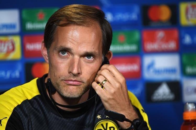 Thomas Tuchel entrenador del Borussia Dortmund tiene contrato con el equipo hasta 2018
