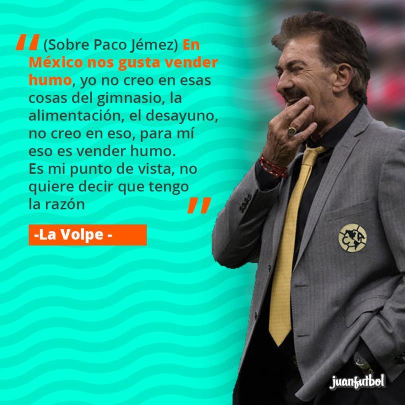 La Volpe habló sobre Paco Jémez