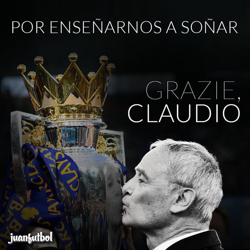 ¡Gracias por todo, Ranieri!