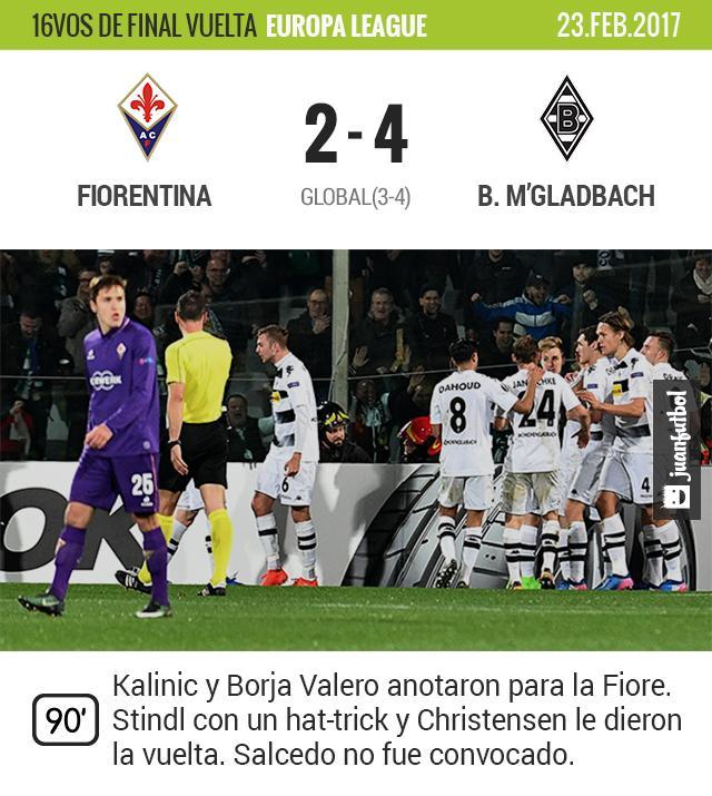 La Fiore es goleada en casa y eliminada de la Europa League