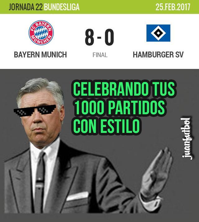 Bayern Munich golea