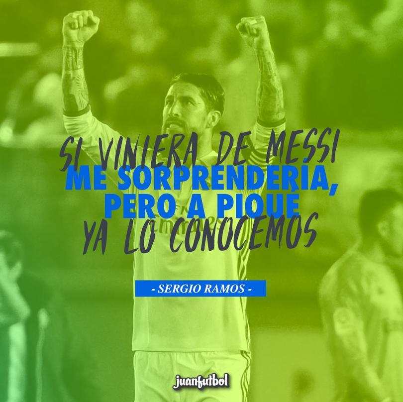 No es la primera ocasión que Piqué se queja en Twitter contra la supuesta ayuda para el Real Madrid