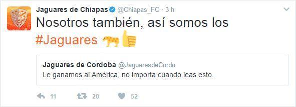 Jaguares hizo de las suyas en redes sociales y ahora trolleó al América