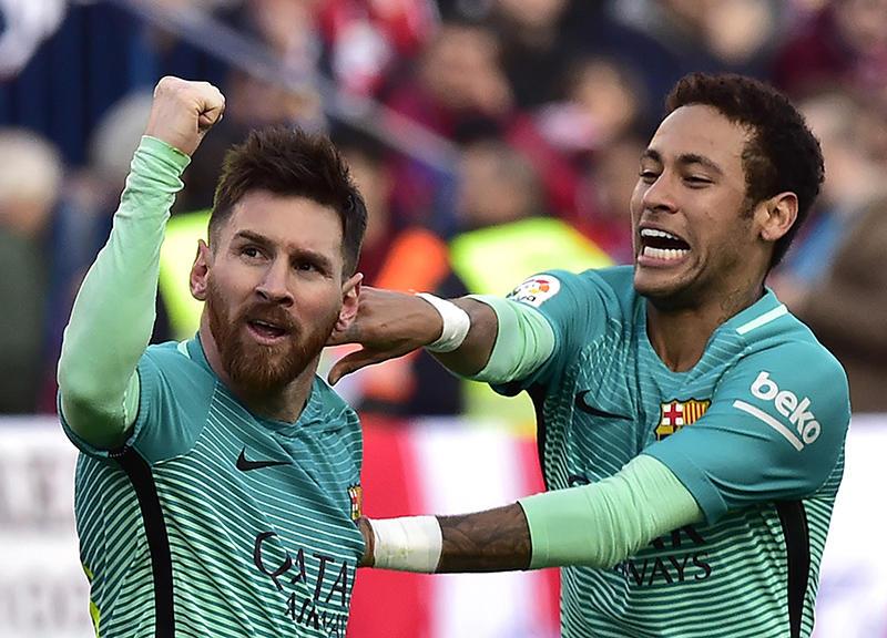 Messi y Neymar tienen un proceso legal por desvío de dinero