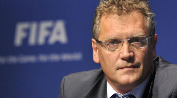 Jerome Valcke, ex secretario de la FIFA