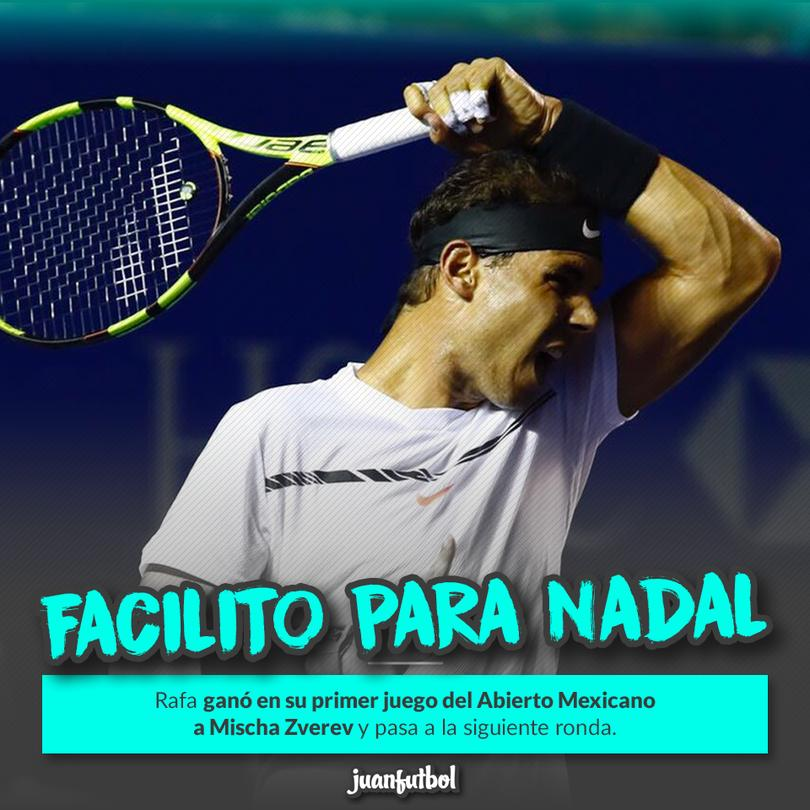 Ganó ambos sets sin ningún problema para pasar a la segunda ronda.