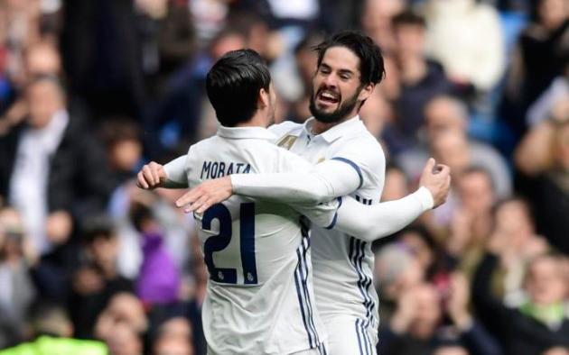 Milan quiere a Isco y Morata