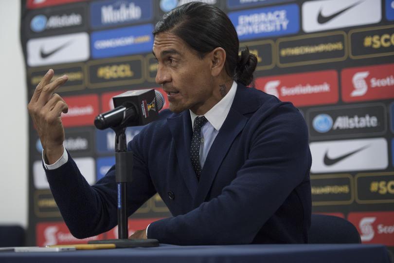 Palencia justificó el trabajo de sus defensas y dijo que la diferencia fue que no metieron goles