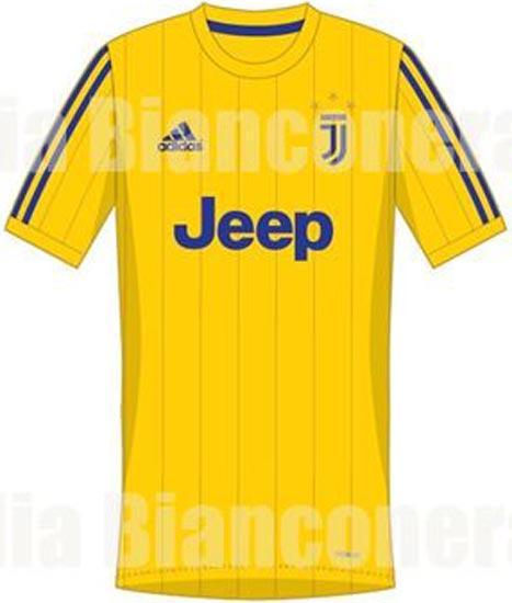 Así será el jersey de visitante de la Juve la próxima temporada
