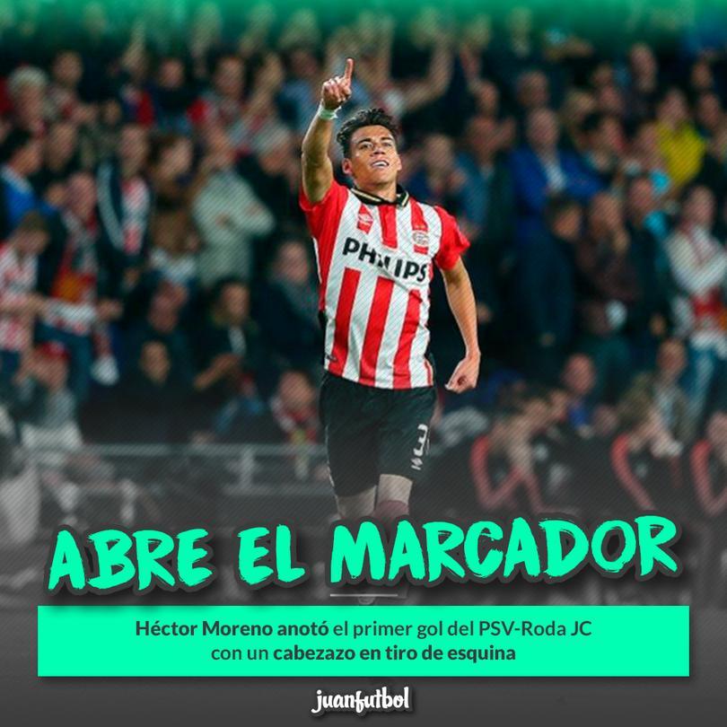 Héctor Moreno anotó