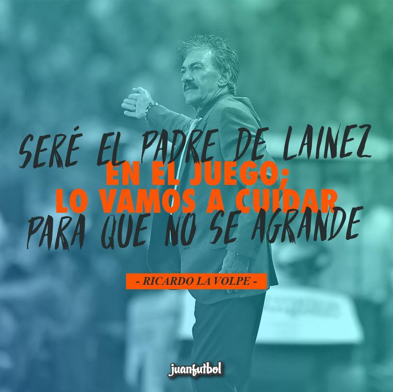 Ricardo La Volpe quiere llevar poco a poco y con cuidado a Diego Lainez