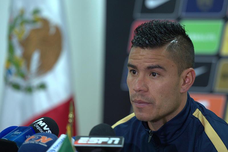 Pablo Barrera en conferencia de prensa