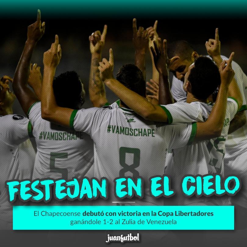 El Chapeco nunca había jugado una Libertadores