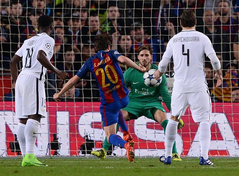 El gol que le dio al Barcelona el pase a cuartos de final