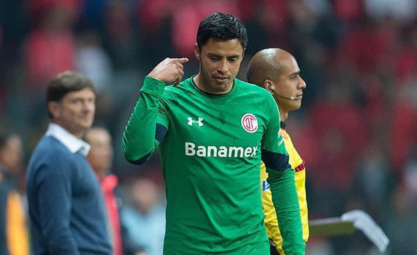 Alfredo Talavera llamó loco al árbitro