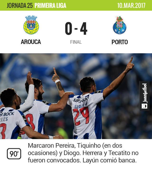 Ningún mexicano tuvo acción en la victoria del Porto