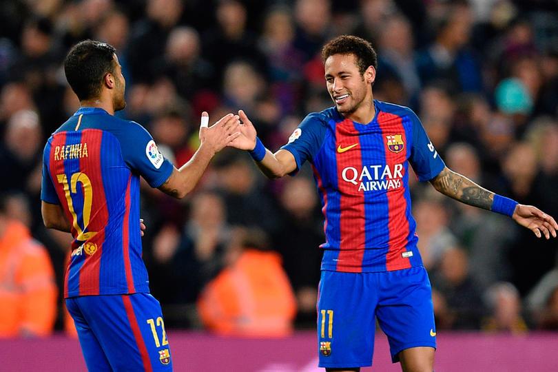 No todo es emoción después de la remontada del Barça, resulta que Neymar y Rafinha son baja para el partido contra el Deportivo La Coruña de este fin de semana.