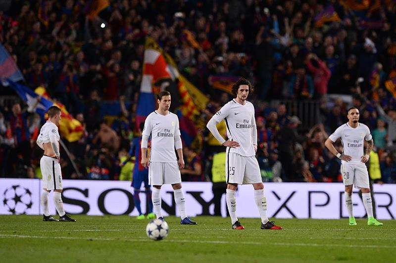 El PSG perdió en el Camp Nou su pase a los octavos de final