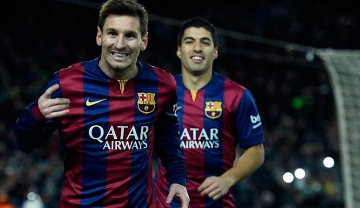 Messi y Suárez en una divertida entrevista