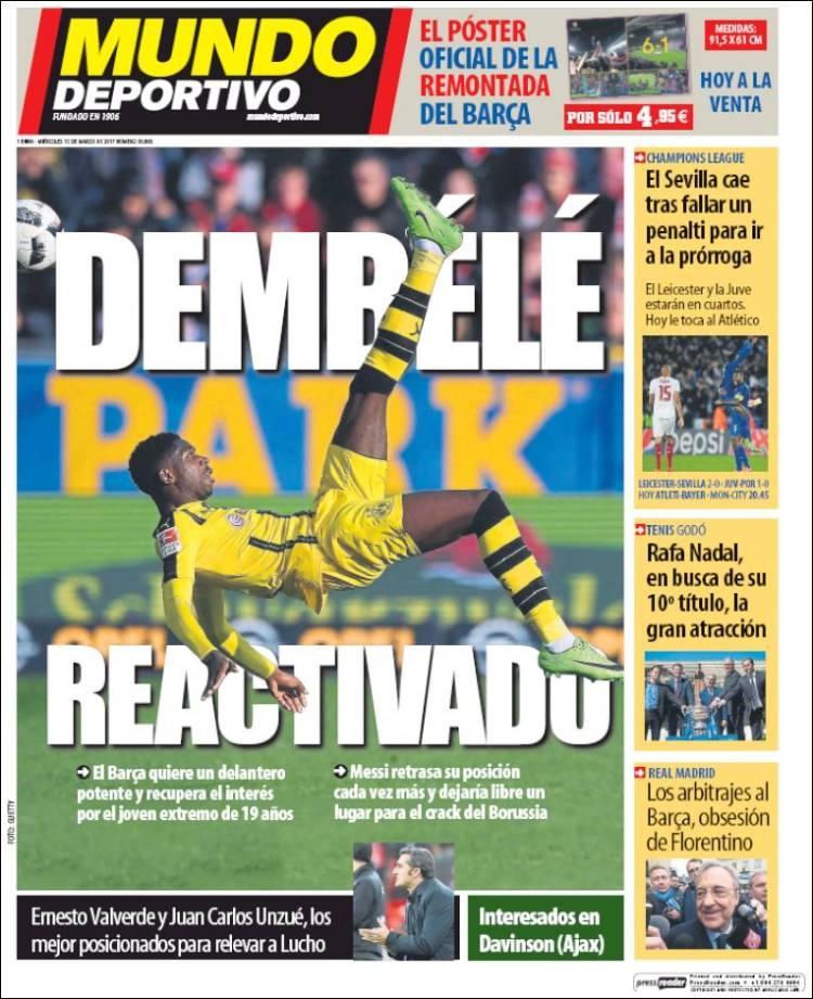 Barcelona va por Dembelé