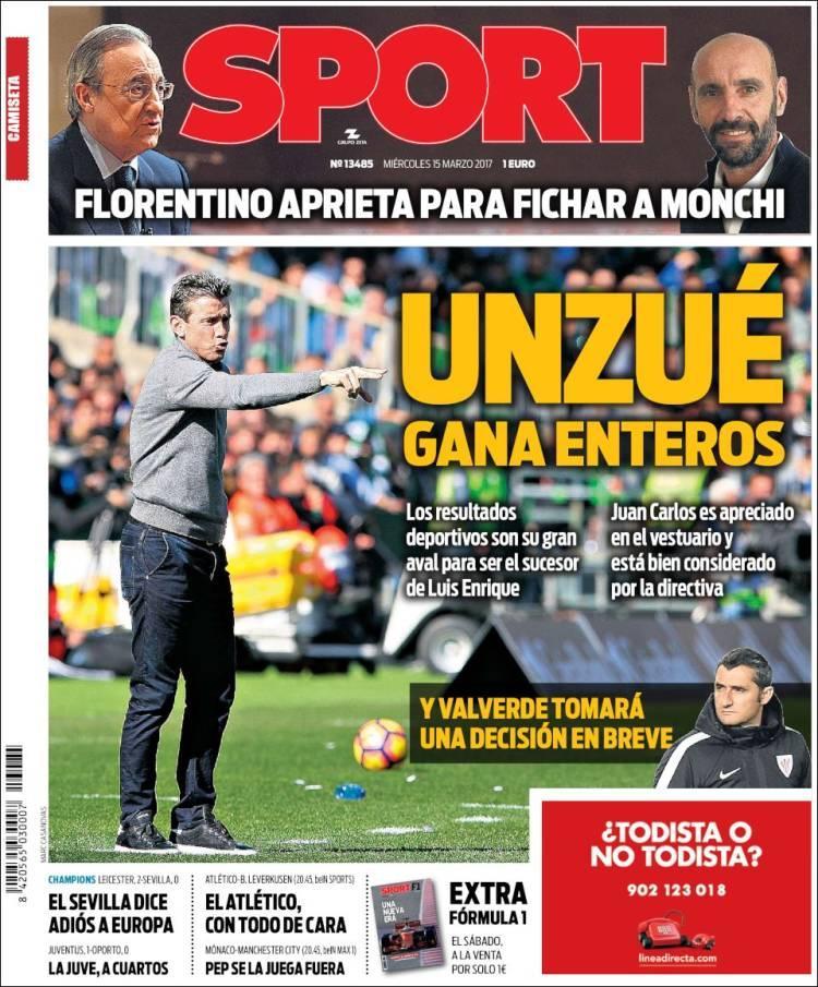 Barcelona quiere a Unzué