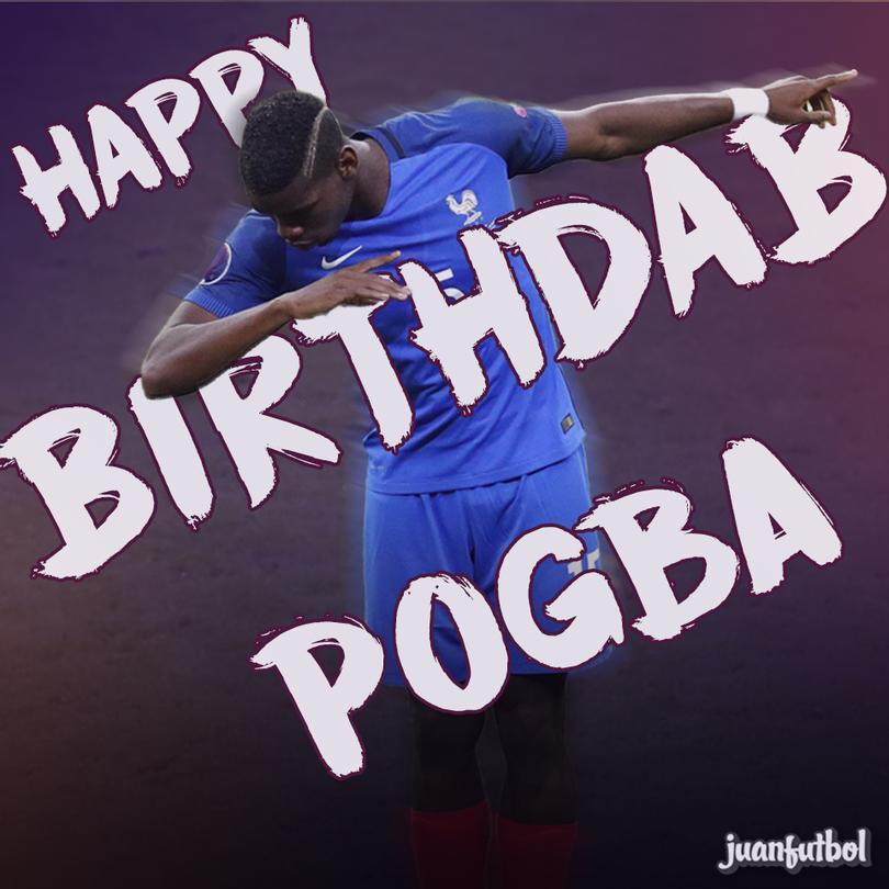 ¡Felices 24, Pogba!