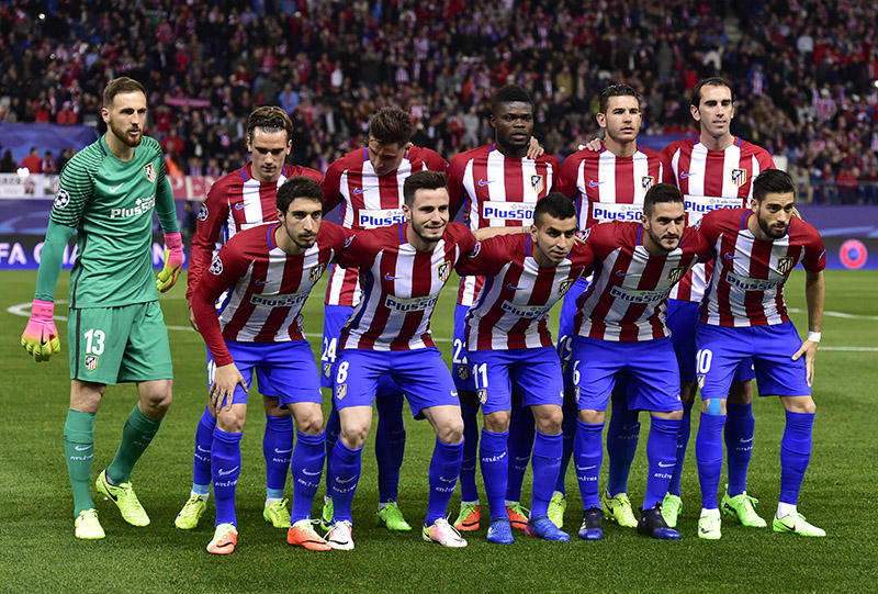 Atlético de Madrid en la Champions