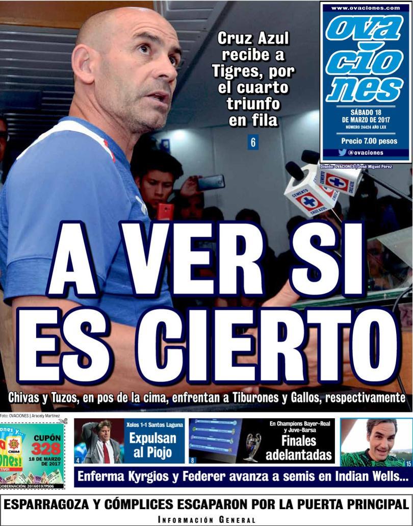 Cruz Azul va contra Tigres