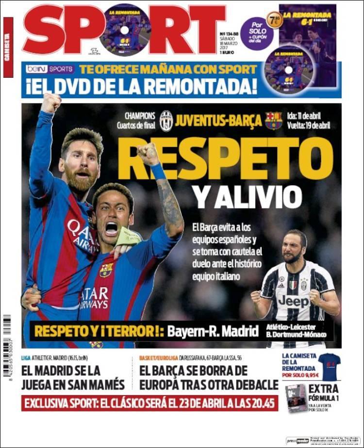 Juventus va contra el Barcelona