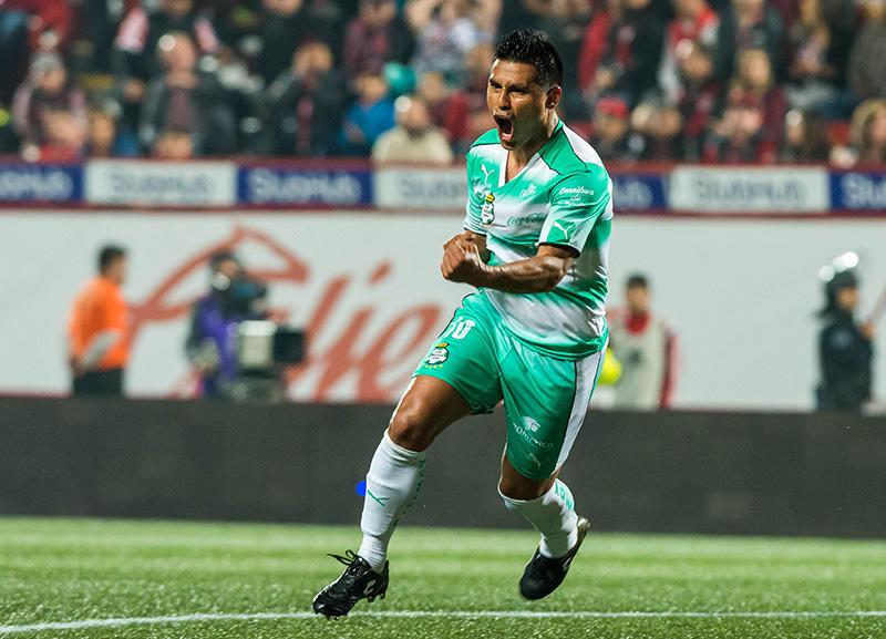 Osvaldito metió el gol para Santos ante Xolos
